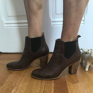 Alberto Fermani Brown Ankle Boots